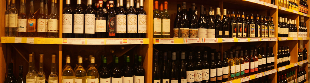 Weinabteilung